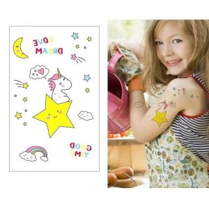 tattoo ephemeral unicorn cute buy