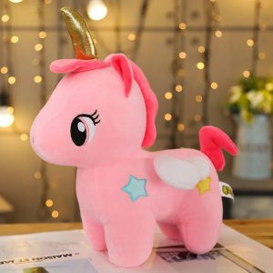 teddy bear unicorn pink 40 cm price