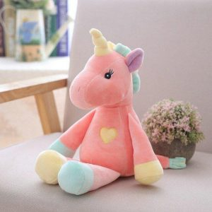 teddy unicorn pink 32 cm not dear