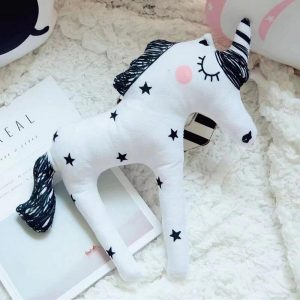 teddy unicorn white 38 30 cm buy