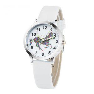 watch unicorn bracelet white at sell