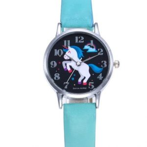 watch unicorn girl green watch unicorn