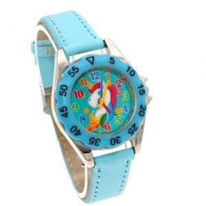 watch unicorn little girl blue clear price