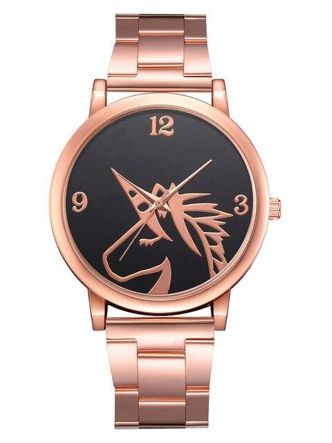 watch unicorn women gold pink unicorn toys store